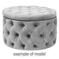 Seating Chest Desire Round Individual Fabric 1