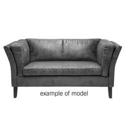 Sofa Couchee 2-Seater Individual Fabric 3