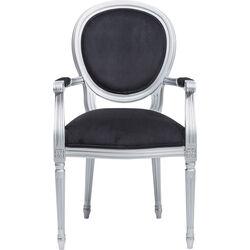 Chair with Armrest Rockstar Silver