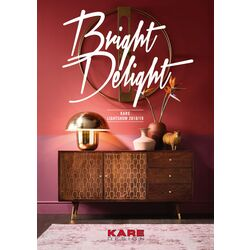 A4 Lighting Catalogue BRIGHT DELIGHT 2018