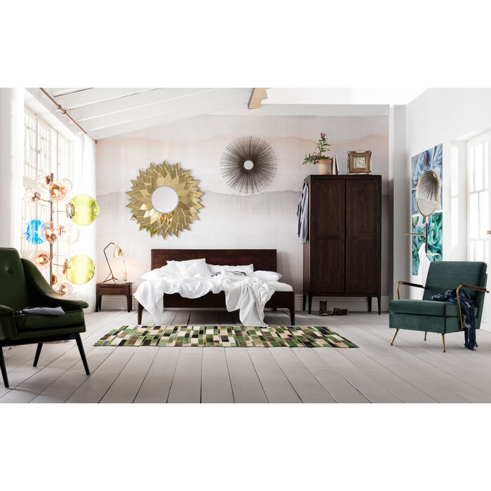 tapis brick vert 170x240cm kare design. Black Bedroom Furniture Sets. Home Design Ideas