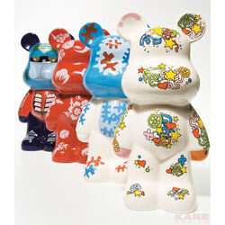 Money Box Funky Bear Assorted