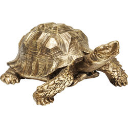 Deco Figurine Turtle Gold Big