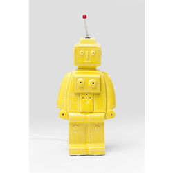 Table Lamp Robot Yellow
