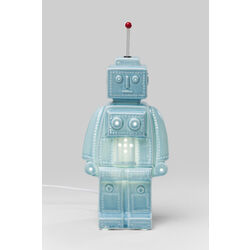 Table Lamp Robot Blue