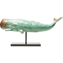 Figura deco Whale Base