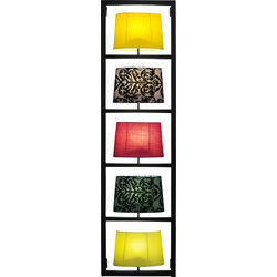 Wall Lamp Parecchi Vertical Black