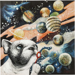 Picture Touched Creating The Universe 100x100cm