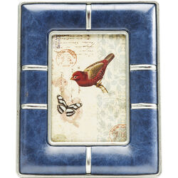 Frame Bow Blue 13x18cm
