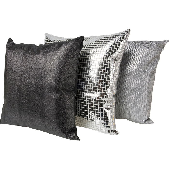 kissen disco 45x45 sortiert kare design. Black Bedroom Furniture Sets. Home Design Ideas