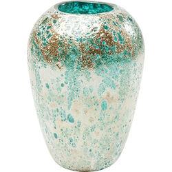 Vase Moonscape Turquoise 22cm