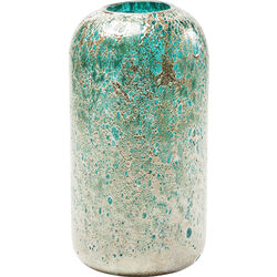 Vase Moonscape Turquoise 31cm