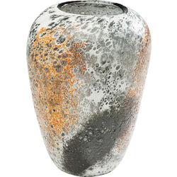 Vase Moonscape Orange 22cm
