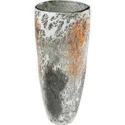 Vase Moonscape Orange 37cm
