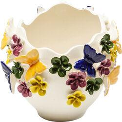 Vase Butterflies 18cm