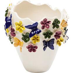 Vase Butterflies 25cm