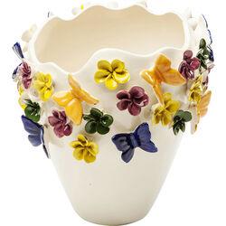 Vase Butterflies 35cm