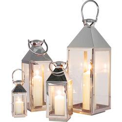 Lantern Giardino Silver (4/Set)