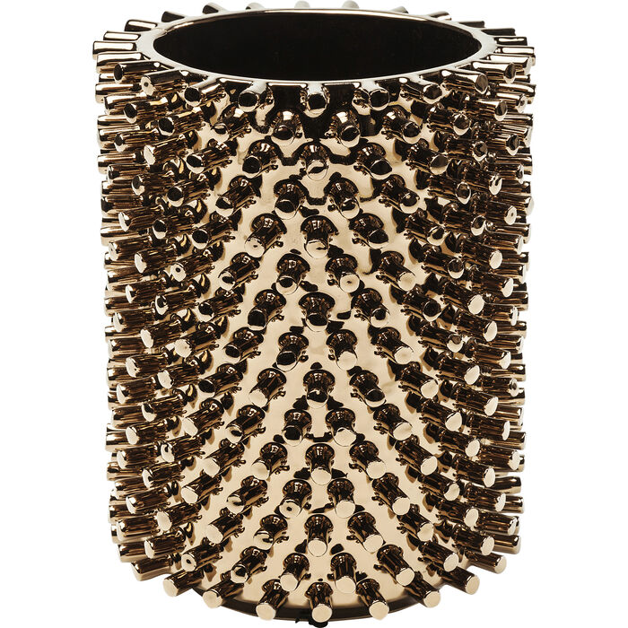vase rivets cuivre 22cm kare design. Black Bedroom Furniture Sets. Home Design Ideas
