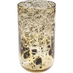Vase Sprinkled Amber 29cm