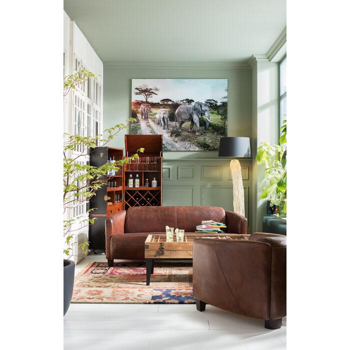 stehleuchte nature straight kare design. Black Bedroom Furniture Sets. Home Design Ideas