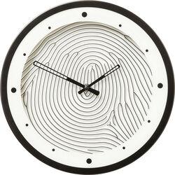 Wall Clock Fingerprint Ø31cm