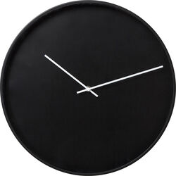 Wall Clock Timeless Black Ø40cm