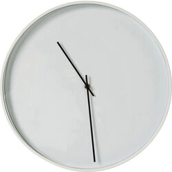 Wall Clock Timeless White Ø40cm