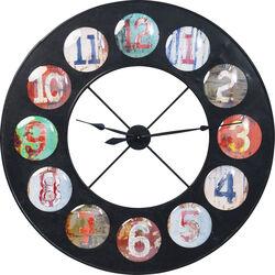 Wall Clock Vintage Colore Ø119
