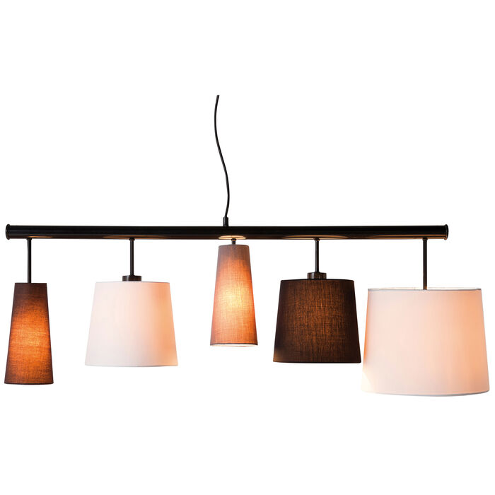 Pendant Lamp Parecchi Black 140 Kare Design