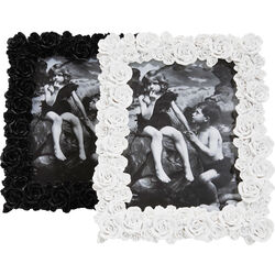 Frame Rose Black&White Assorted 13x18cm
