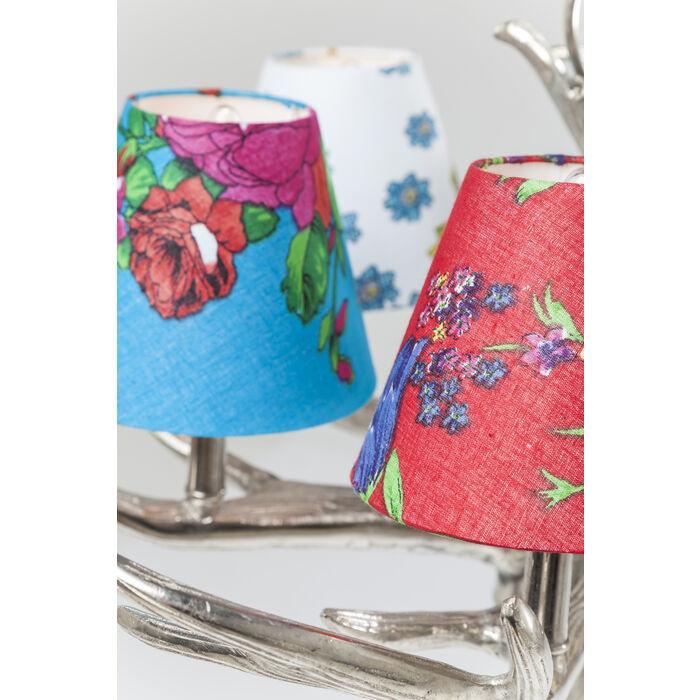 Pendant Lamp Antler Flowers 6 Branched Kare Design