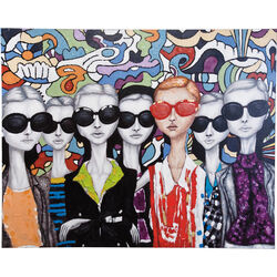 Acrylic Painting Sunglasses 120x150cm