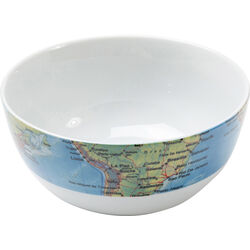 Cereal Bowl Map