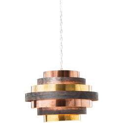 Pendant Lamp Belt Round Coffee
