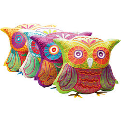 Cushion Fiesta Owl 33x31cm Assorted