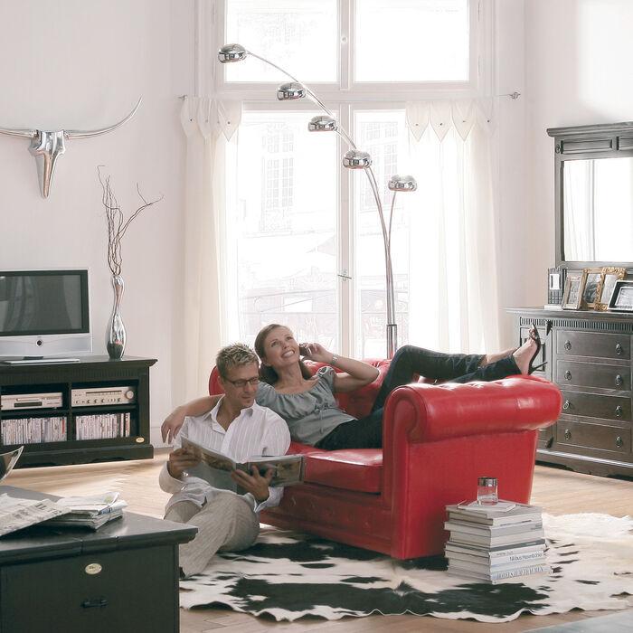 stehleuchte five fingers kare design. Black Bedroom Furniture Sets. Home Design Ideas