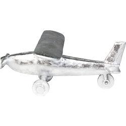 Deco Object Plane Silver Big