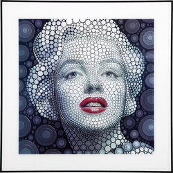 Picture 3D Marilyn 60x60cm