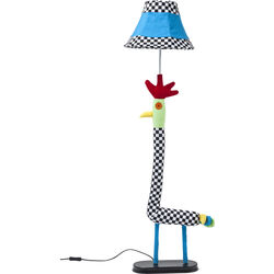 Floor Lamp Chicken Checker
