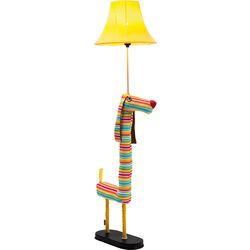 Floor Lamp Dog Stripes