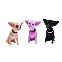 Nodding Figurine Chihuahua Assorted