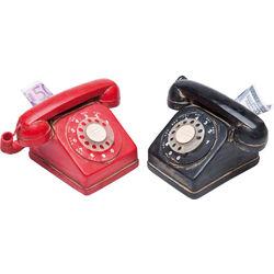 Money Box Telefone Seventies Assorted