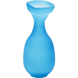 Vase Mushroom bleu