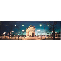 Picture Arc De Triomphe LED 45x140cm