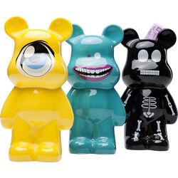 Money Box Funky Bear New Generation Assorted