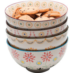 Cereal Bowl Grandmas Flowers Reload Assorted