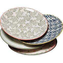 Plate Grandmas Flowers 25cm Reload Assorted