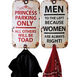 Coat Rack Slogan Vintage Assorted