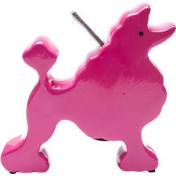 Money Box Poodle Lady Pink